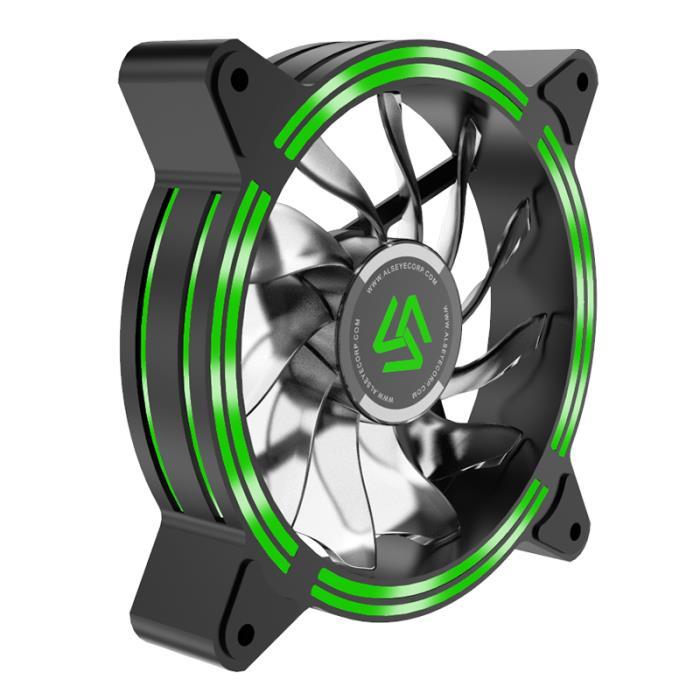 Case Cooler 12cm Green Alseye HALO 4.0 - ALSEYE DOM320019