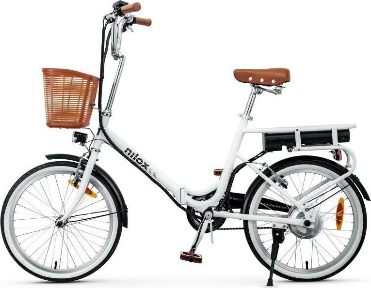 NILOX DOC E-BIKE J1 Λευκό Ηλεκτρικό ποδήλατο 30NXEB140V003V2