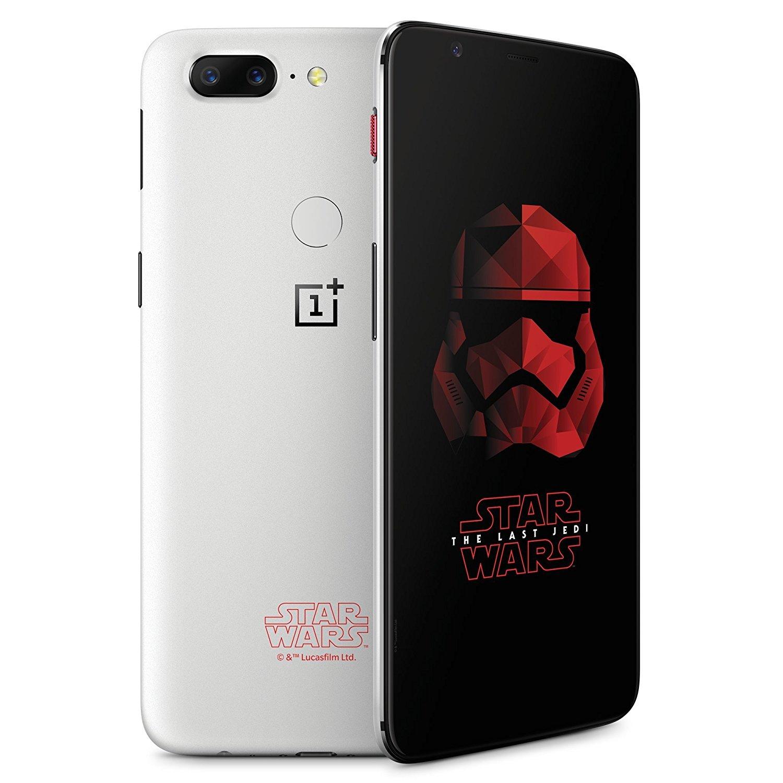 OnePlus 5T A5010 128GB Dual Limited Edition Star Wars Sandstone White (Δώρο Tempered Glass + Θήκη) Πληρωμή έως 12 δόσεις