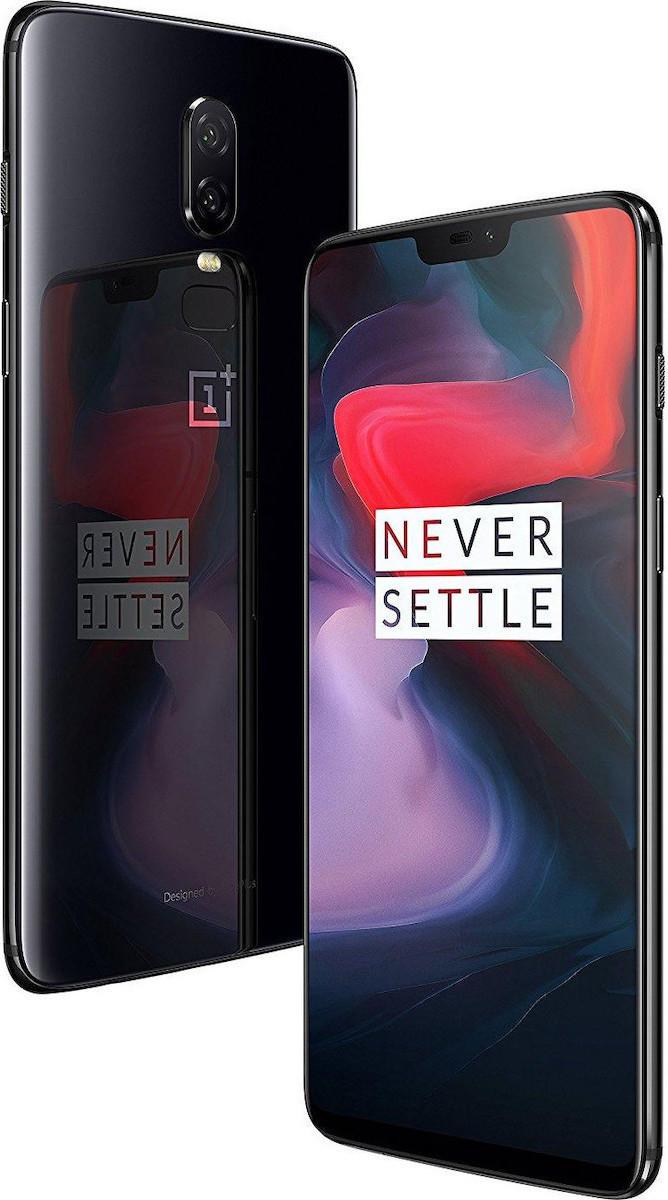 OnePlus 6 256GB Dual Black Avengers Editon με αντάπτορα  Πληρωμή έως 12 δόσεις