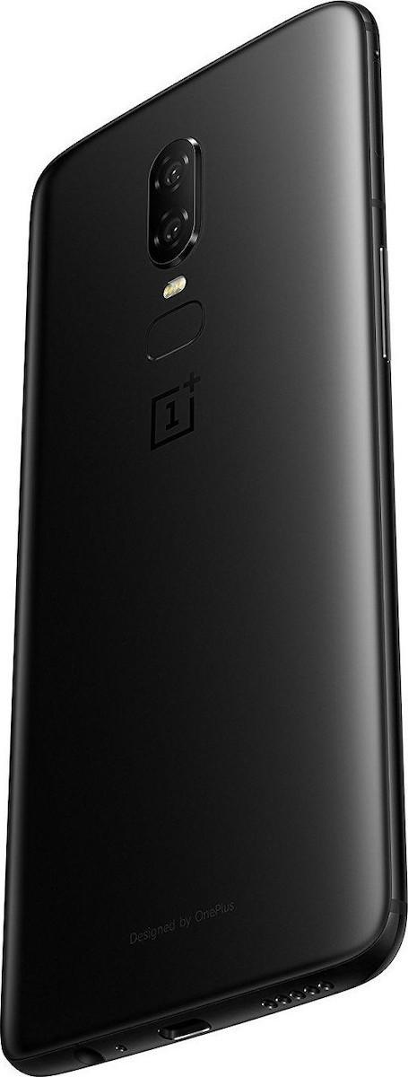 OnePlus 6 256GB Dual Black με αντάπτορα  Πληρωμή έως 12 δόσεις