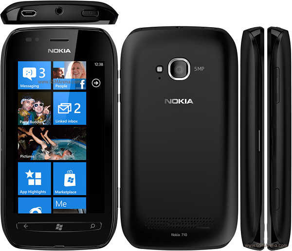 Dummy Phone Nokia Lumia 710 Μπλέ