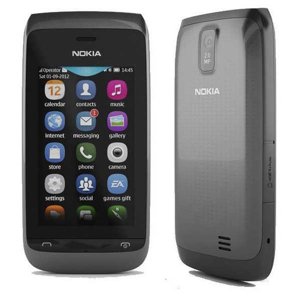Dummy Phone Nokia Asha 308 Μαύρο