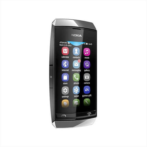 Dummy Phone Nokia Asha 309 Ασημί