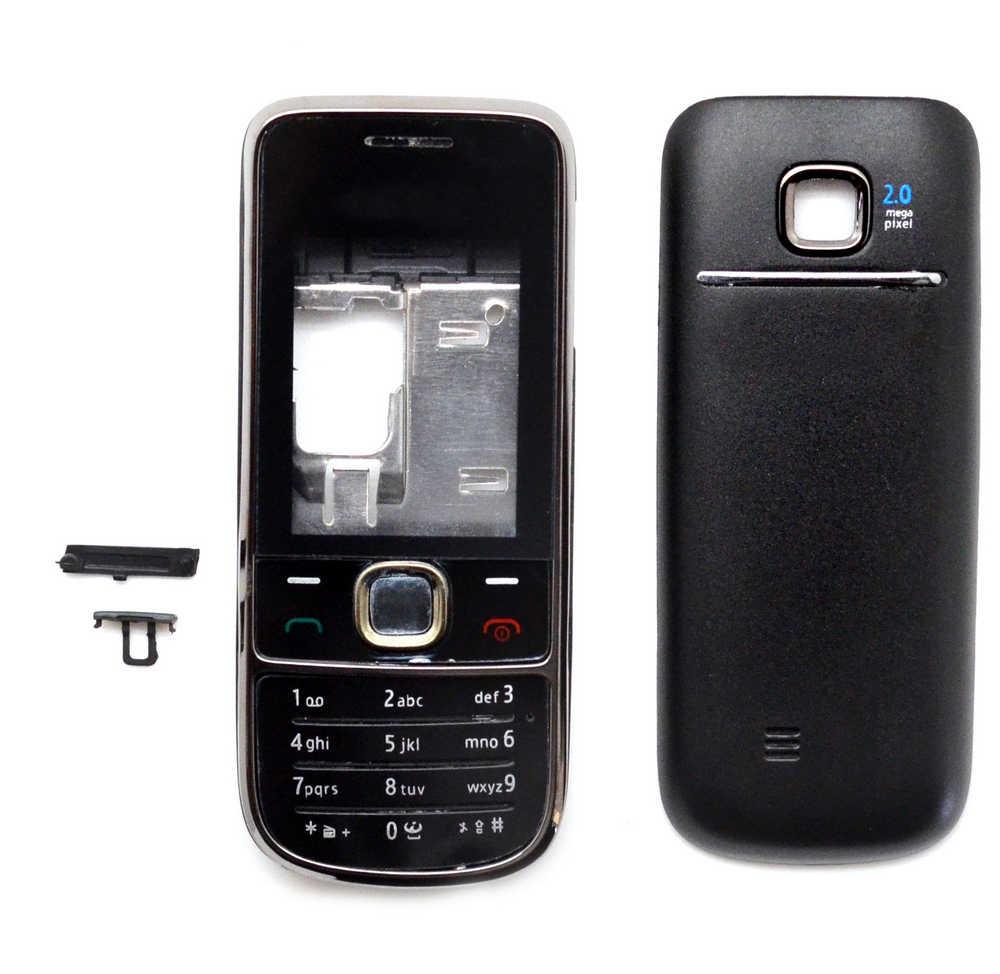 Πρόσοψη Nokia 2700 Classic με πληκτρολόγιο Μαύρη OEM