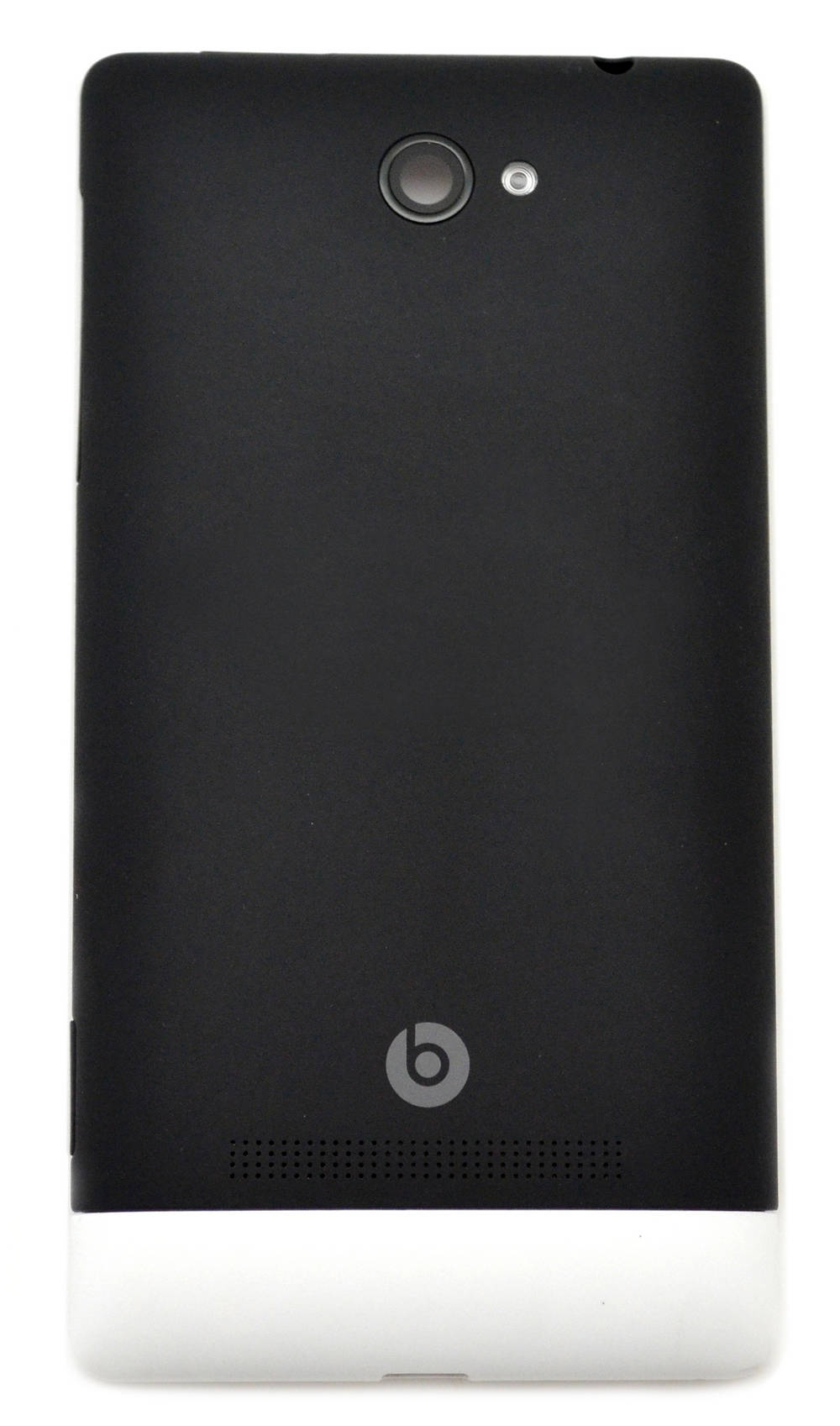 Πίσω Κάλυμμα HTC 8S Windows Phone Μαύρο-Λευκό OEM