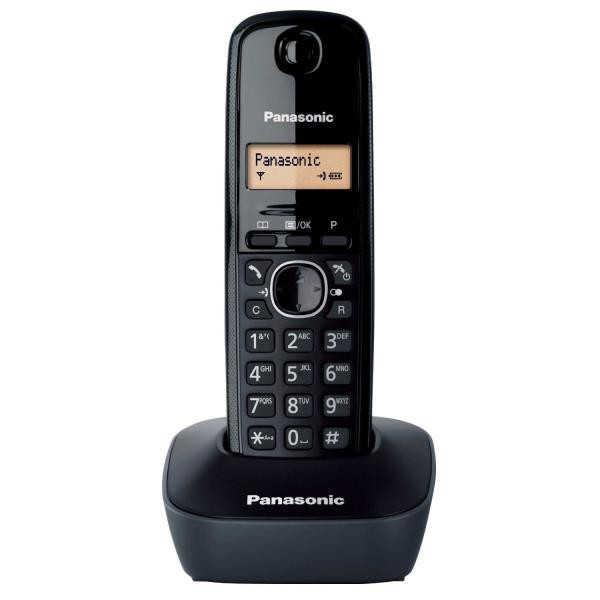 Ασύρματο Ψηφιακό Τηλέφωνο Panasonic KX-TG1611GRH Μαύρο