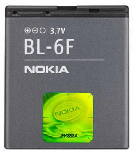 Μπαταρία Nokia BL-6F για N95 8GB Original Bulk