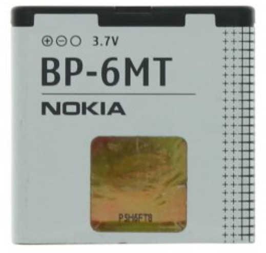 Μπαταρία Nokia BP-6MT για 6720 Classic Original Bulk