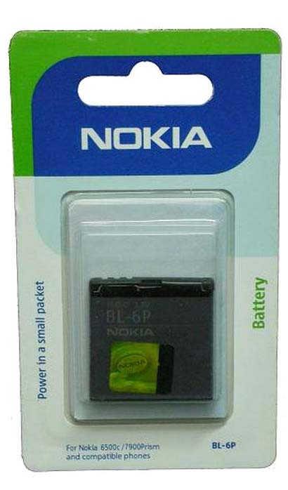 Μπαταρία Nokia BL-6P για 6500 Classic