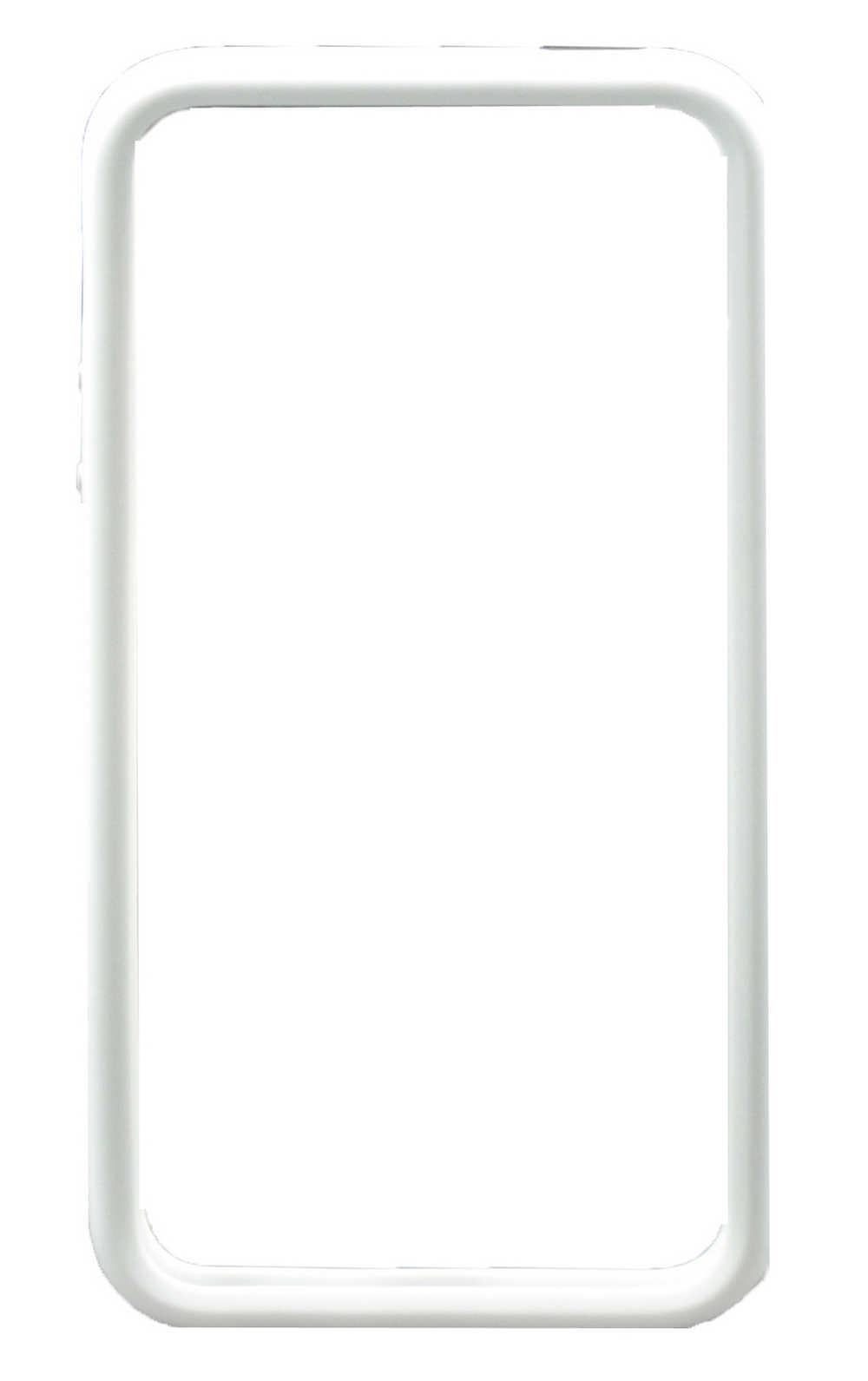 Θήκη Bumper Apple για iPhone 4/4S Λευκή Original Bulk