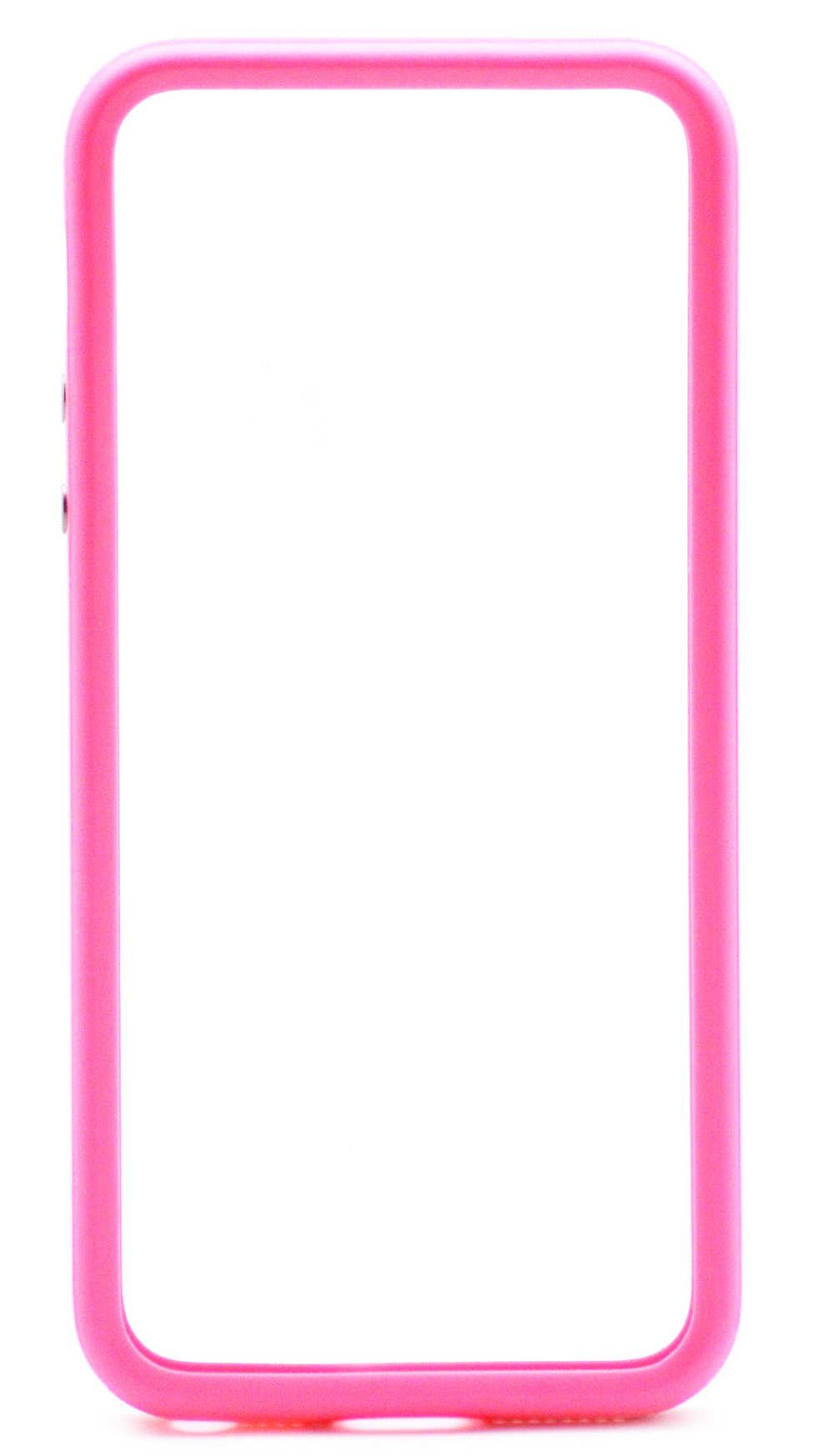 Θήκη Bumper Apple για iPhone SE/5/5S Ρόζ Original Bulk