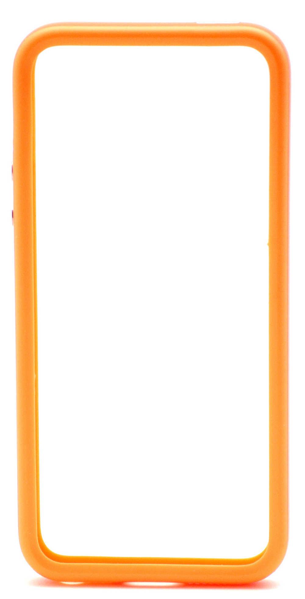 Θήκη Bumper Apple για iPhone SE/5/5S Πορτοκαλί Original Bulk