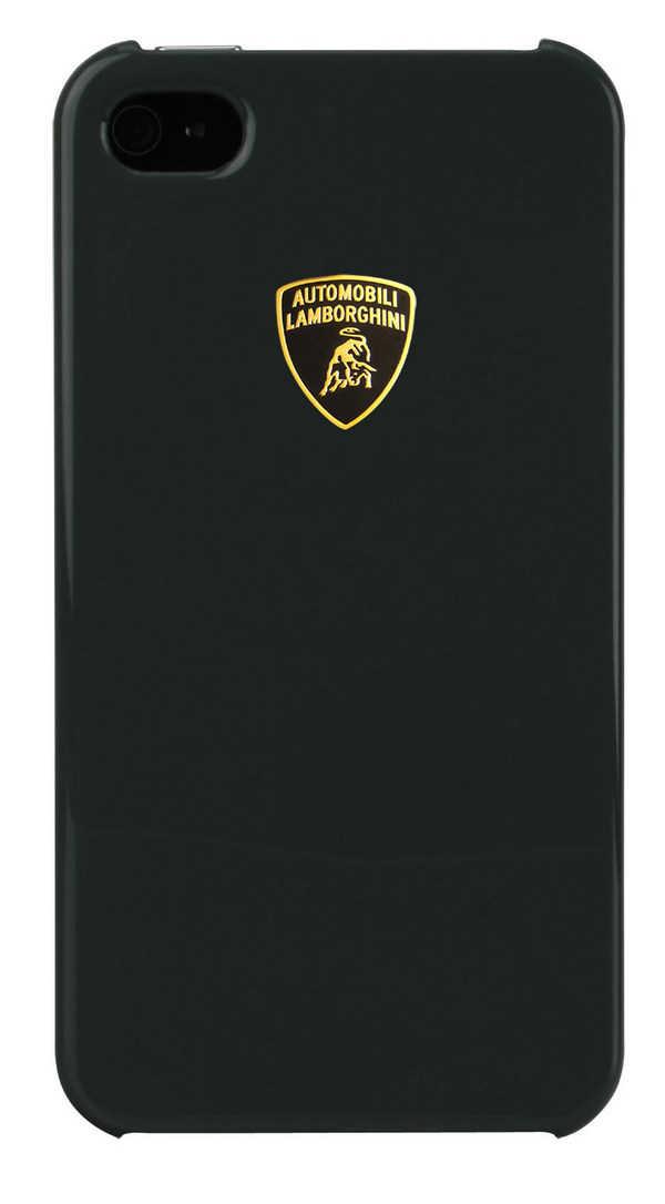 Θήκη Faceplate Lamborghini για Apple iPhone 4/4S Stylish Μαύρη Diablo-D2