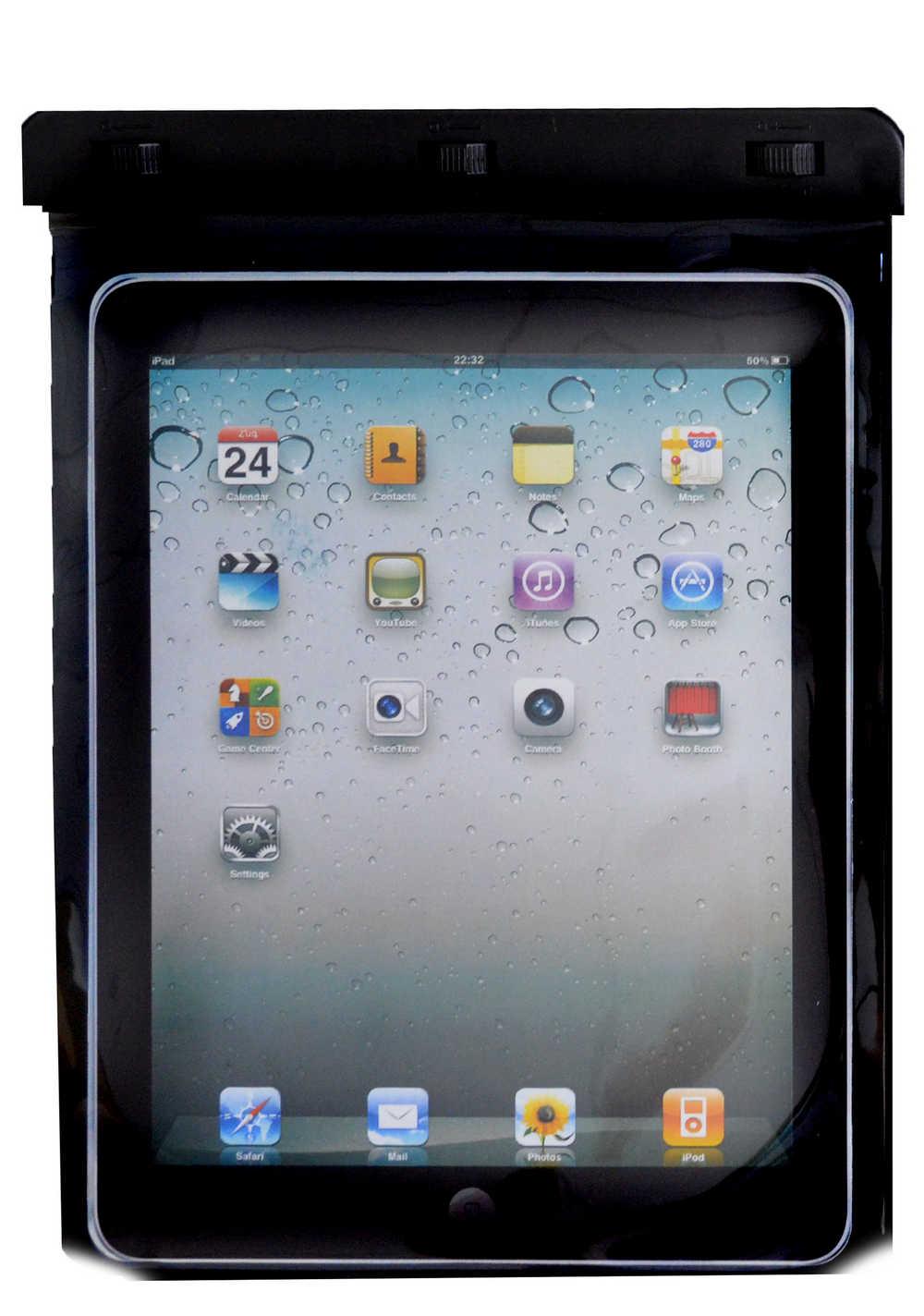 Θήκη Αδιάβροχη Ancus για Apple iPad και Ηλεκτρονικών Συσκευών Μαύρη (29 cm x 21 cm)