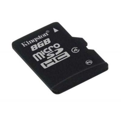 Κάρτα Μνήμης Kingston MicroSDHC 8GB Class 4 SDC4/8GBSP