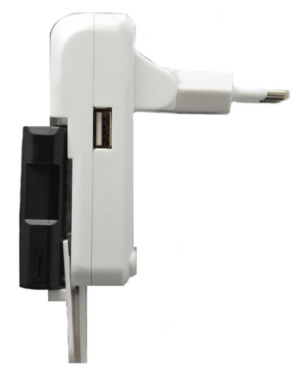 Φορτιστής Μπαταριών Κάμερας - Κινητών Goop Universal GD-925U με Οθόνη και Usb Θύρα