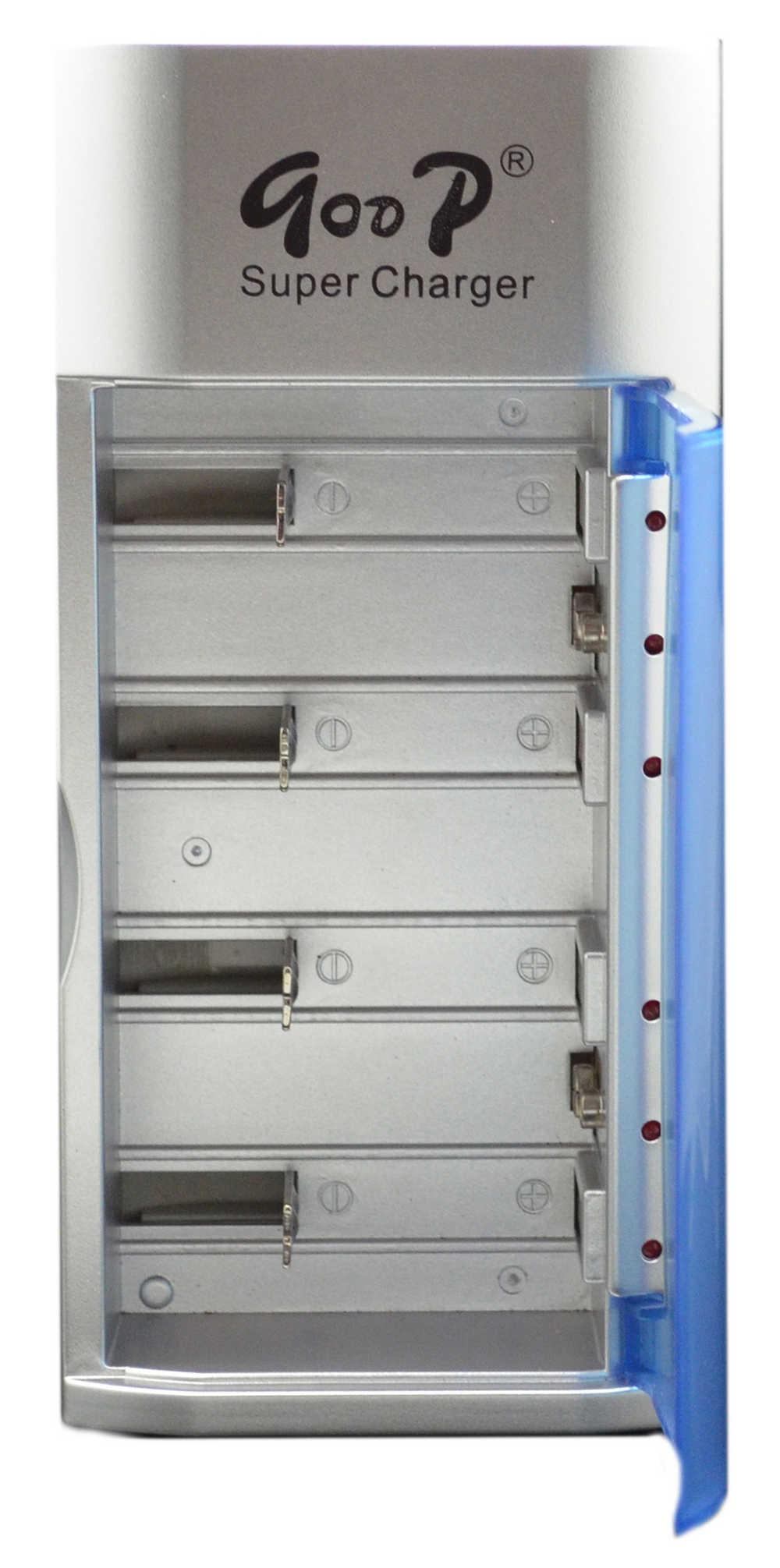 Φορτιστής Μπαταριών Goop Universal GD-837 για D/C/AA/AAA/9V