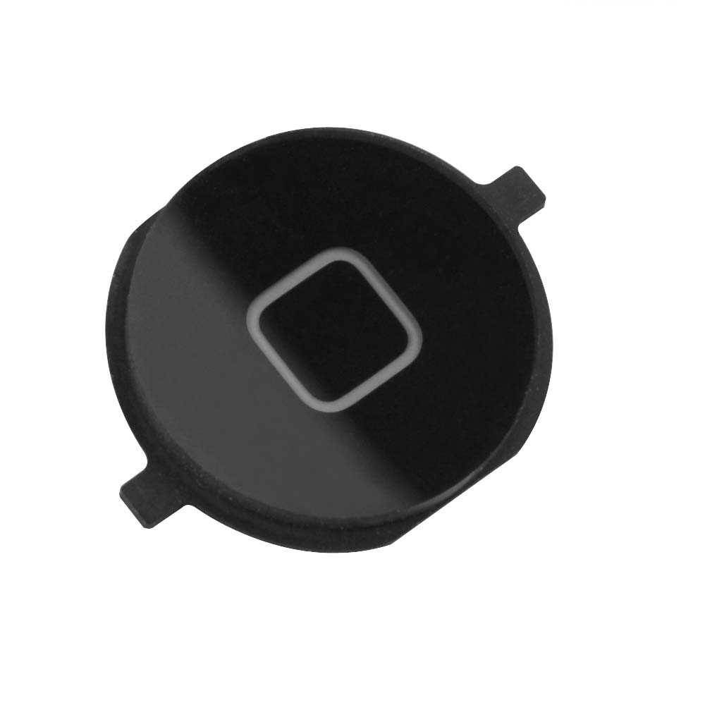 Εξωτερικό Κεντρικό Πλήκτρο Apple iPhone 4 Μαύρο OEM Type A
