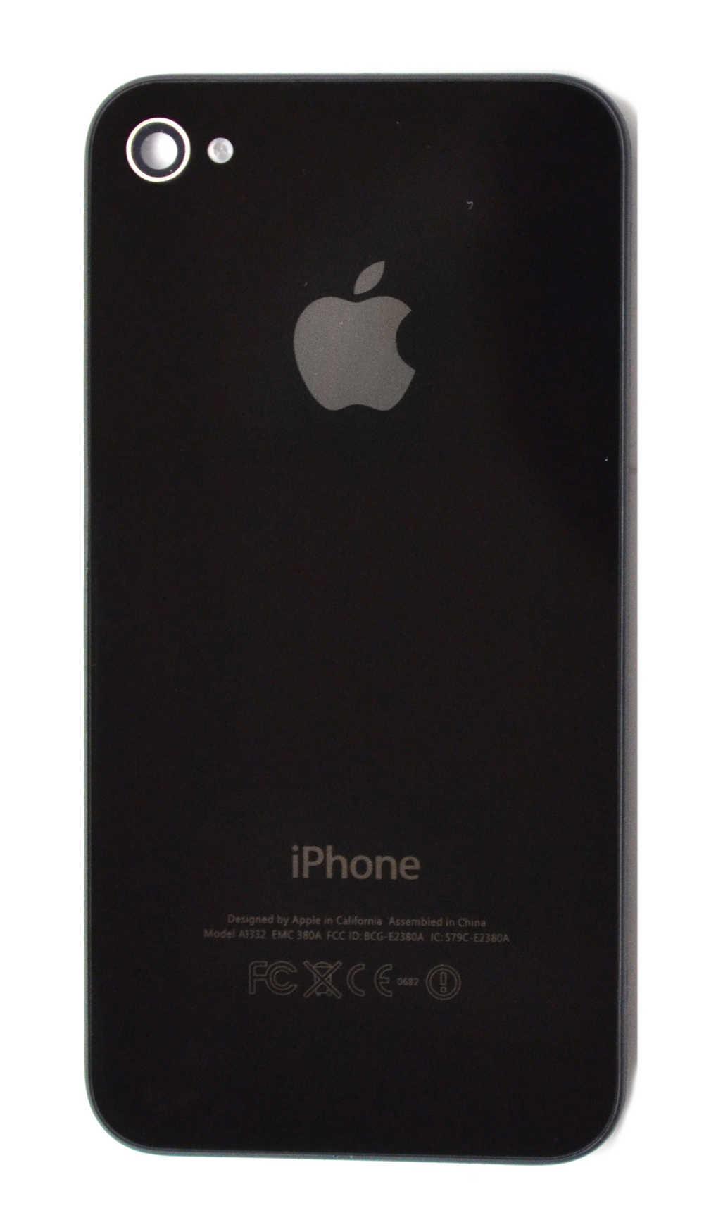 Πίσω Κάλυμμα Apple iPhone 4 Μαύρο OEM Type A