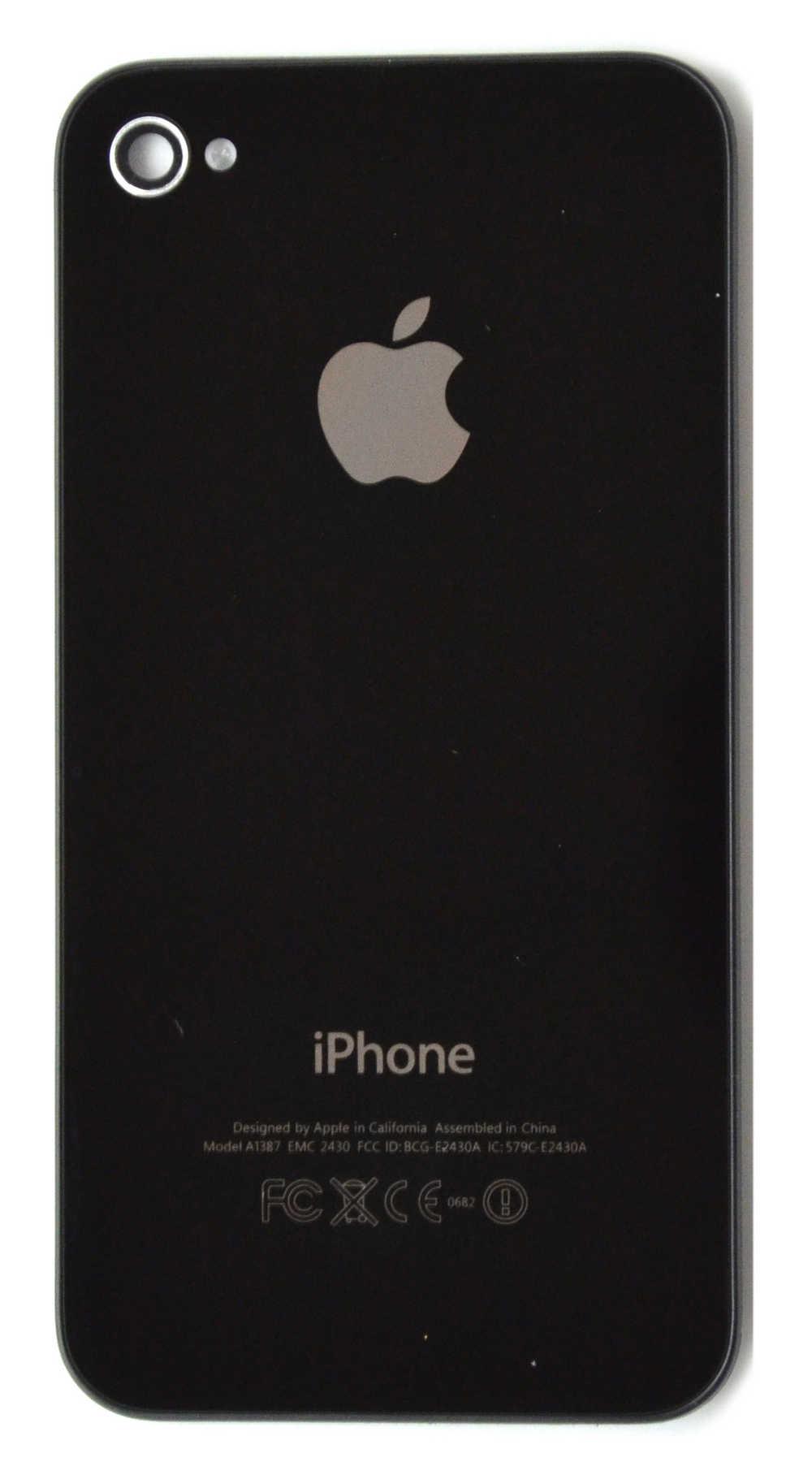 Πίσω Κάλυμμα Apple iPhone 4S Μαύρο Swap