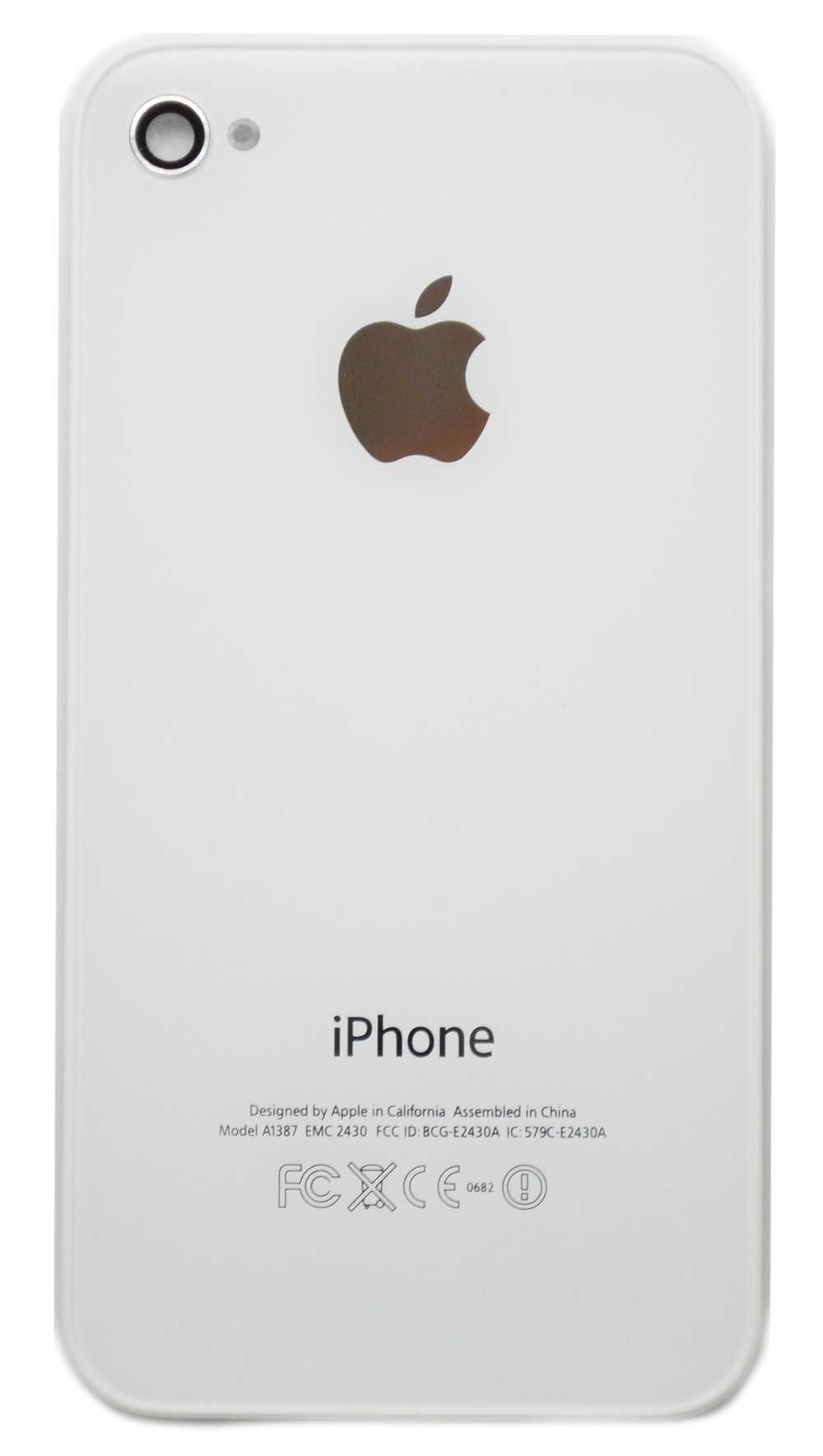 Πίσω Κάλυμμα Apple iPhone 4S Λευκό Swap