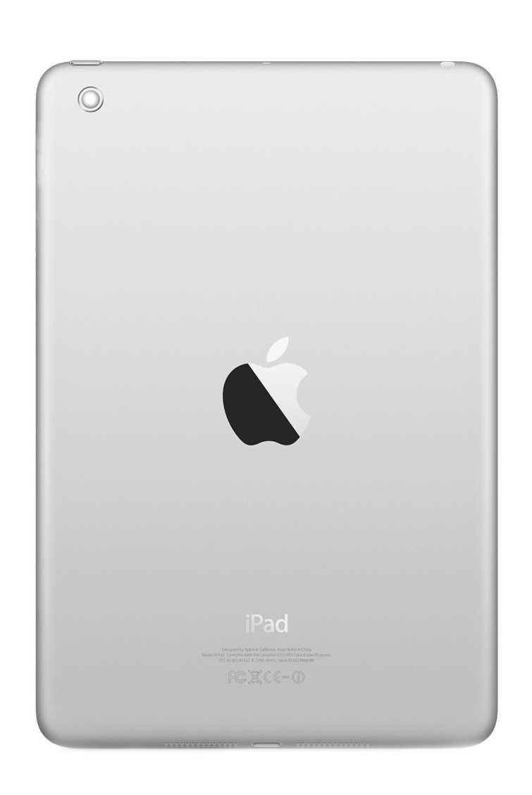 Πίσω Κάλυμμα Apple iPad Mini Wifi Ασημί Swap