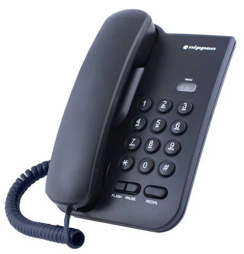 Σταθερό Ψηφιακό Τηλέφωνο Nippon NP 2035 Μαύρο