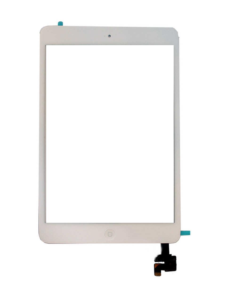 Μηχανισμός Αφής Apple iPad Mini με IC και Home Button Λευκό OEM