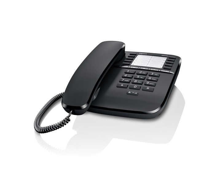 Σταθερό Ψηφιακό Τηλέφωνο Gigaset DA510 Μαύρο Με Κλείδωμα Συσκευής