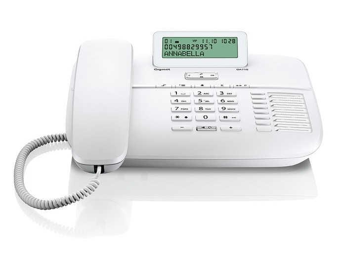 Σταθερό Ψηφιακό Τηλέφωνο Gigaset DA710 Λευκό
