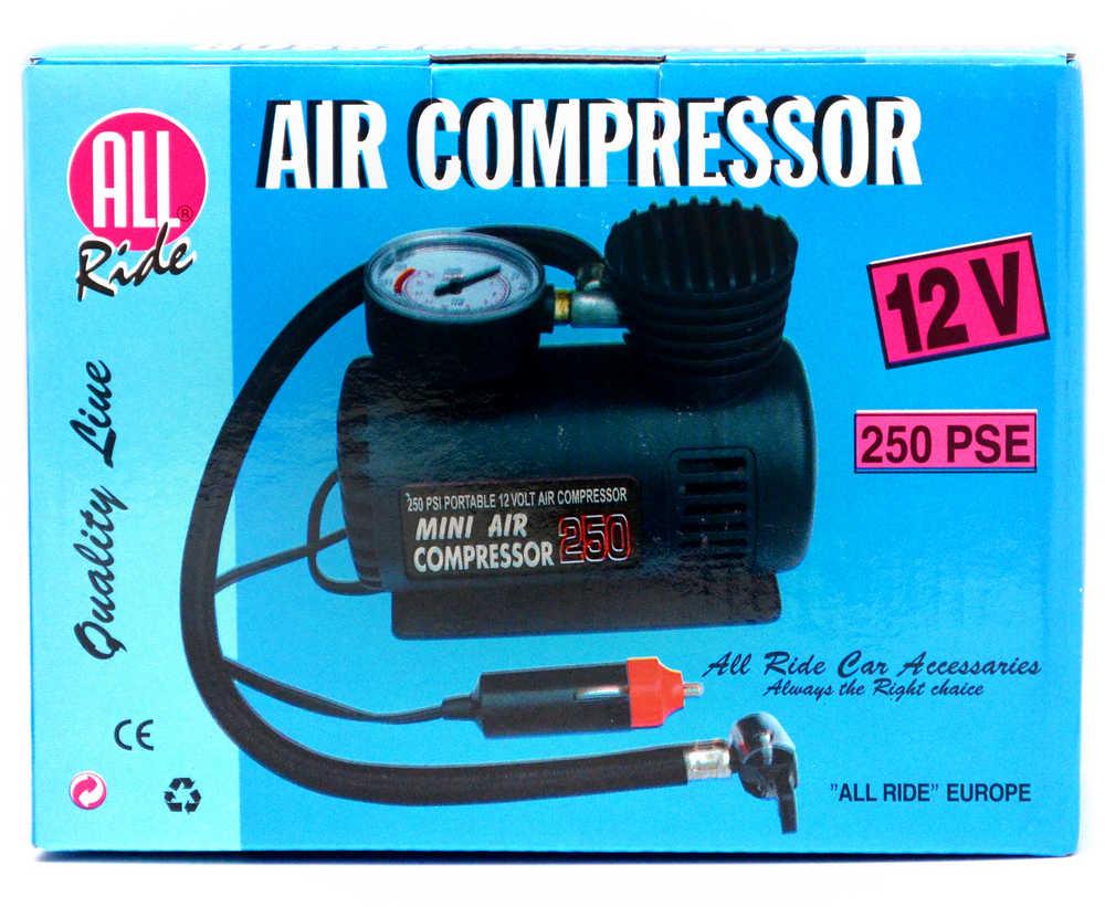 Κομπρεσέρ Αέρα Μίνι All Ride 12V 250PSI