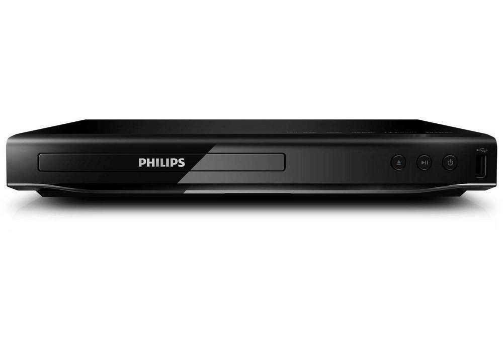 DVD player Philips DVP2850 Μαύρο με Υποδοχή Usb