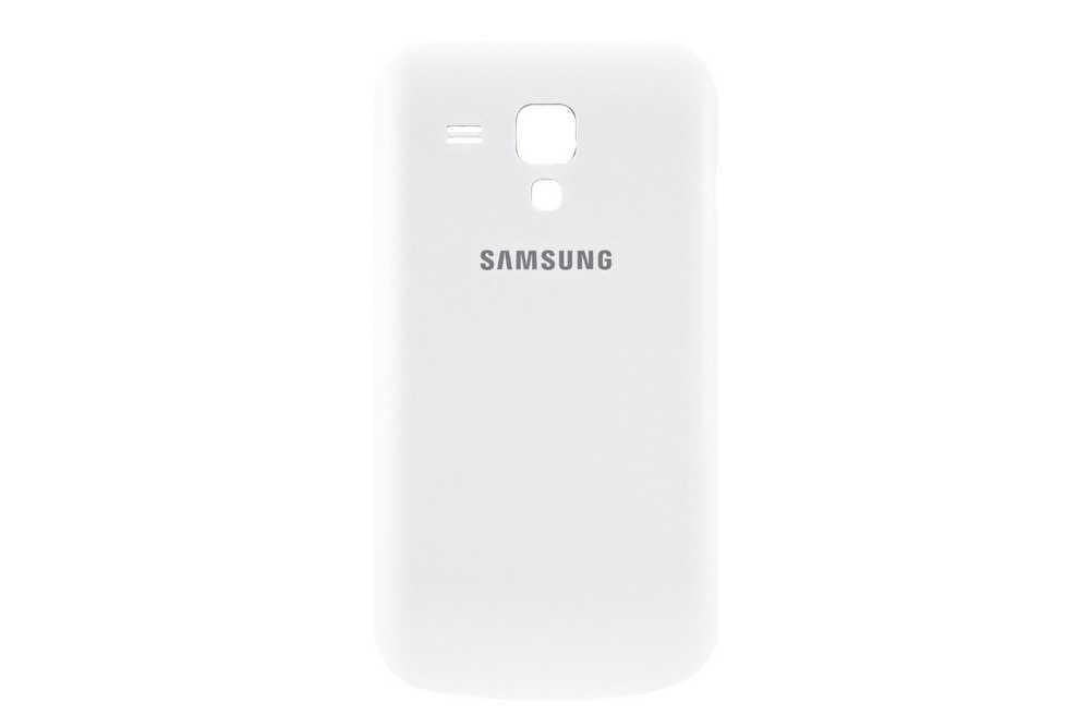 Καπάκι Μπαταρίας Samsung S7562 Galaxy S Duos Λευκό Original GH98-24666A