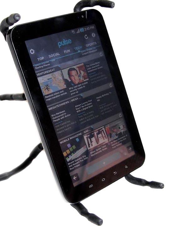 Βάση Στήριξης SpiderPodium Tablet Μεγάλο Μέγεθος Μαύρη
