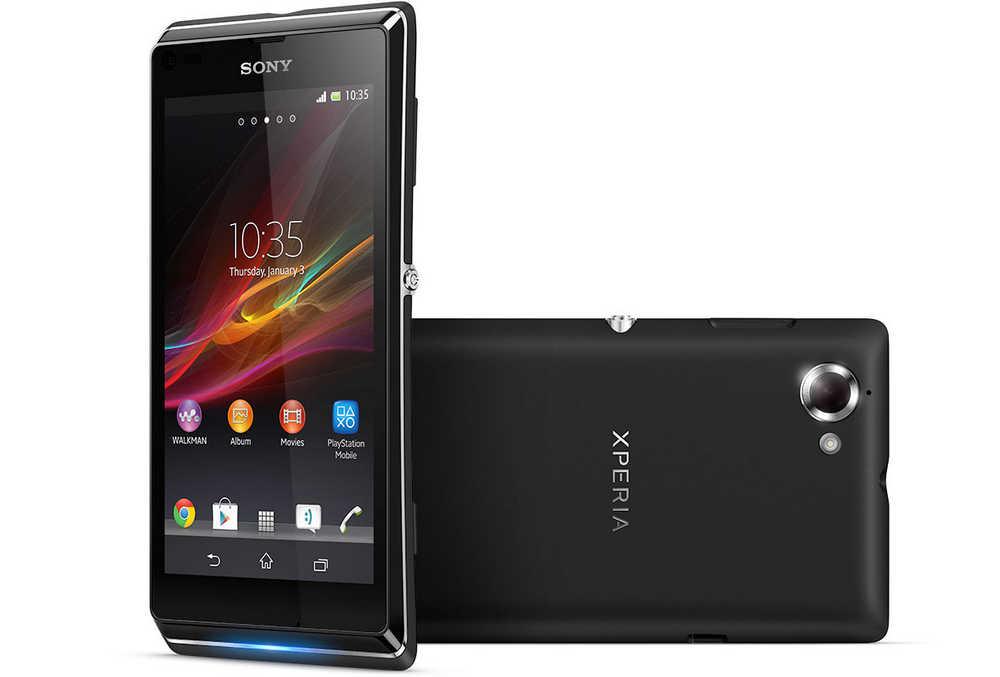 Dummy Phone Sony Xperia C Μαύρο Original