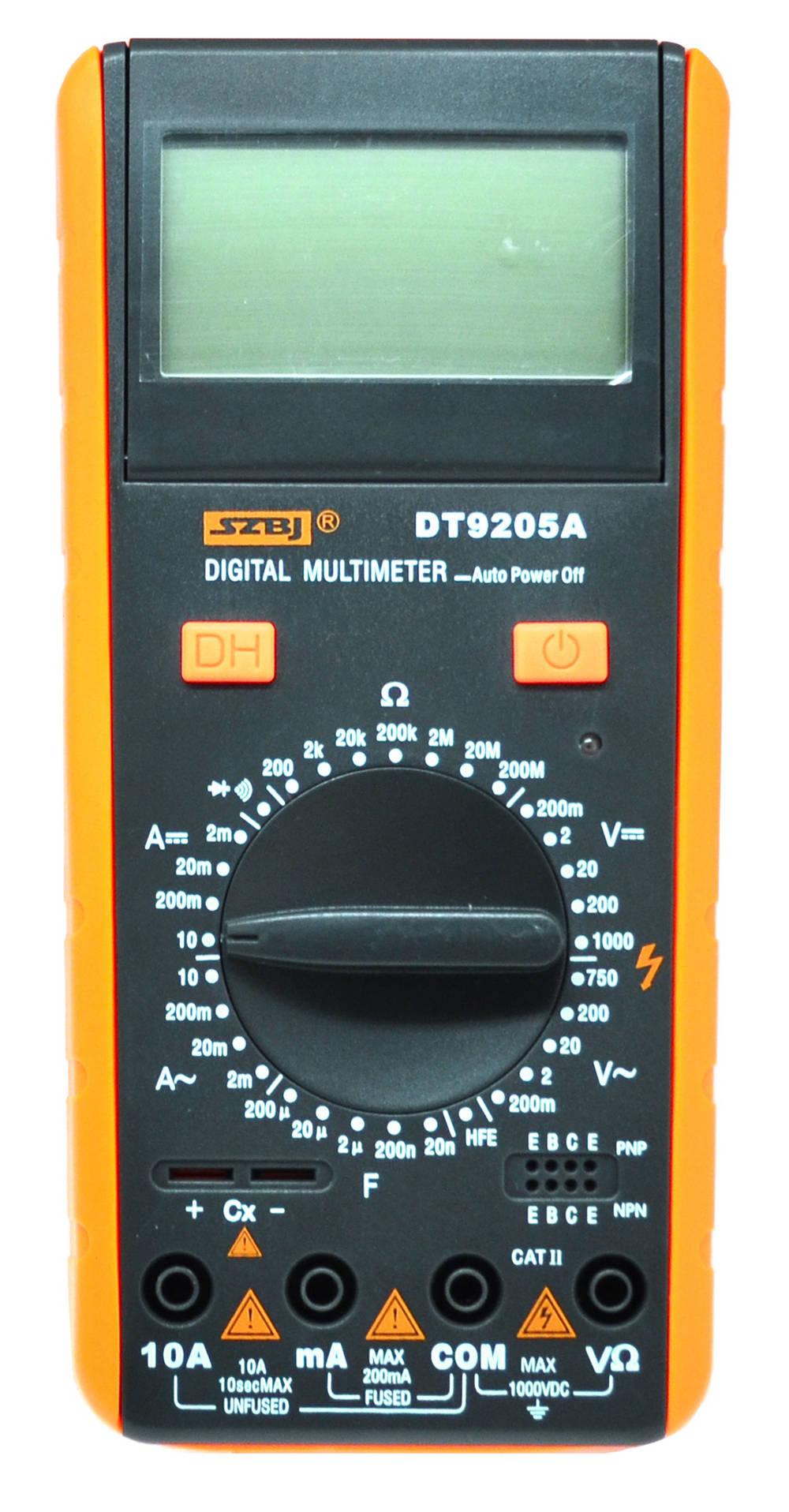 Πολύμετρο SZBJ DT9205A