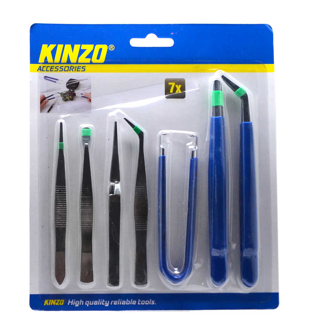 Σέτ Τσιμπίδες Kinzo 7 Τεμαχίων