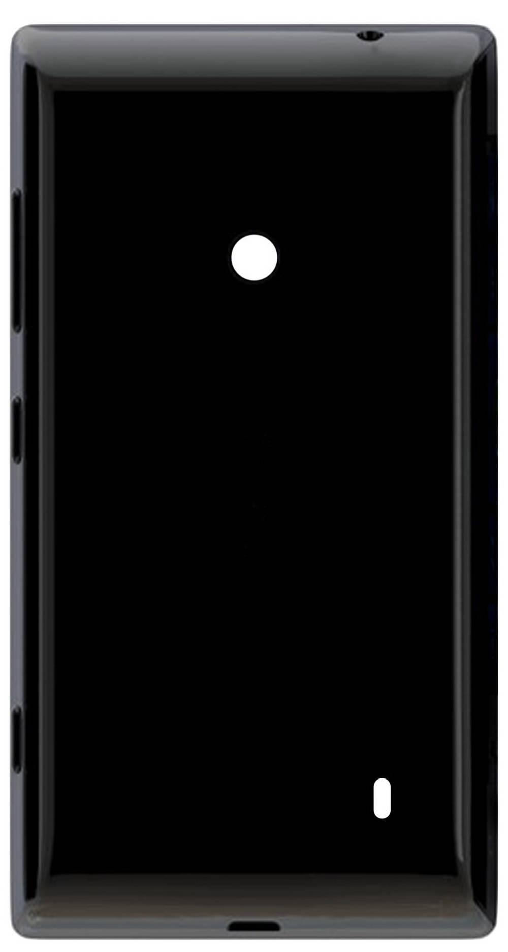 Καπάκι Μπαταρίας Nokia Lumia 520/525 Μαύρο Swap με Εξωτερικά Πλαϊνά Πλήκτρα