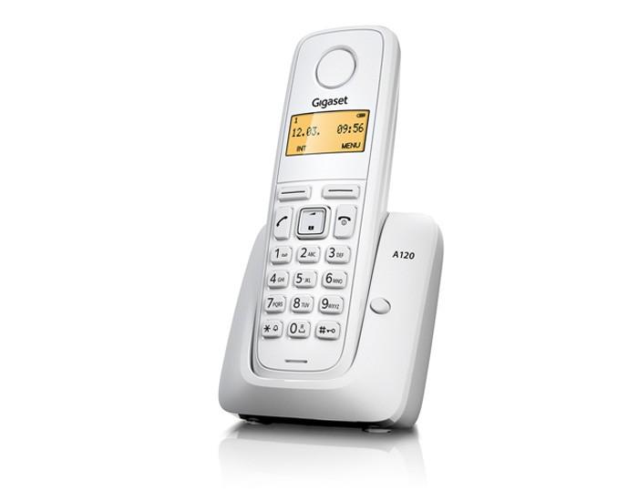 Ασύρματο Ψηφιακό Τηλέφωνο Gigaset A120 Λευκό