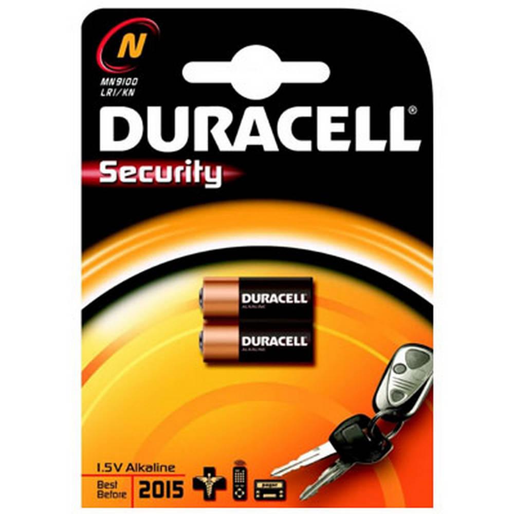 Μπαταρία Αλκαλική Security Duracell N / LR1 1.5V size MN9100 Τεμ. 2
