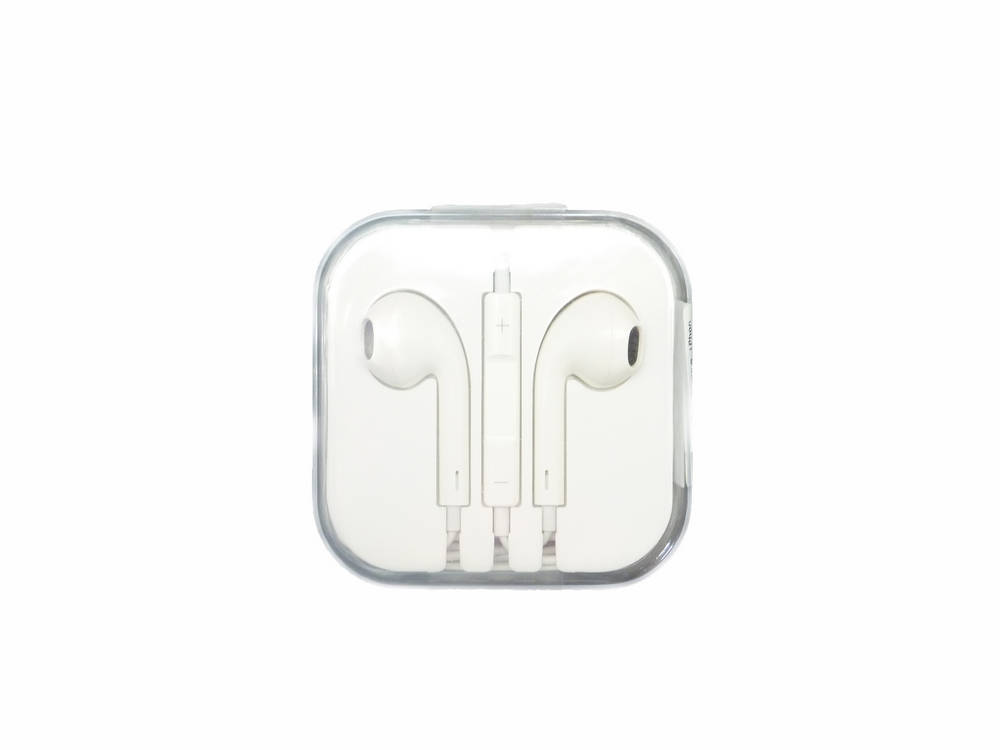 Hands Free Stereo Apple για iPhone 5 EarPods MD827ZM Bulk