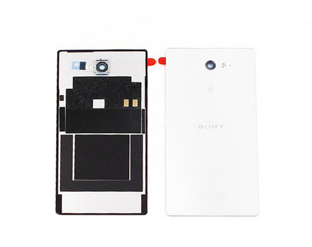 Καπάκι Μπαταρίας Sony Xperia M2/M2 Dual με Κεραία NFC Λευκό Original 78P7110002N