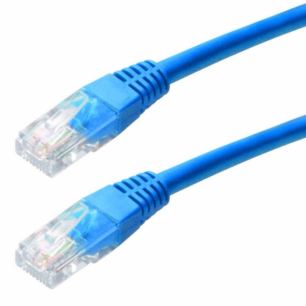 Καλώδιο Δικτύου Jasper Cat 5 UTP 10m Μπλέ Patch Cord