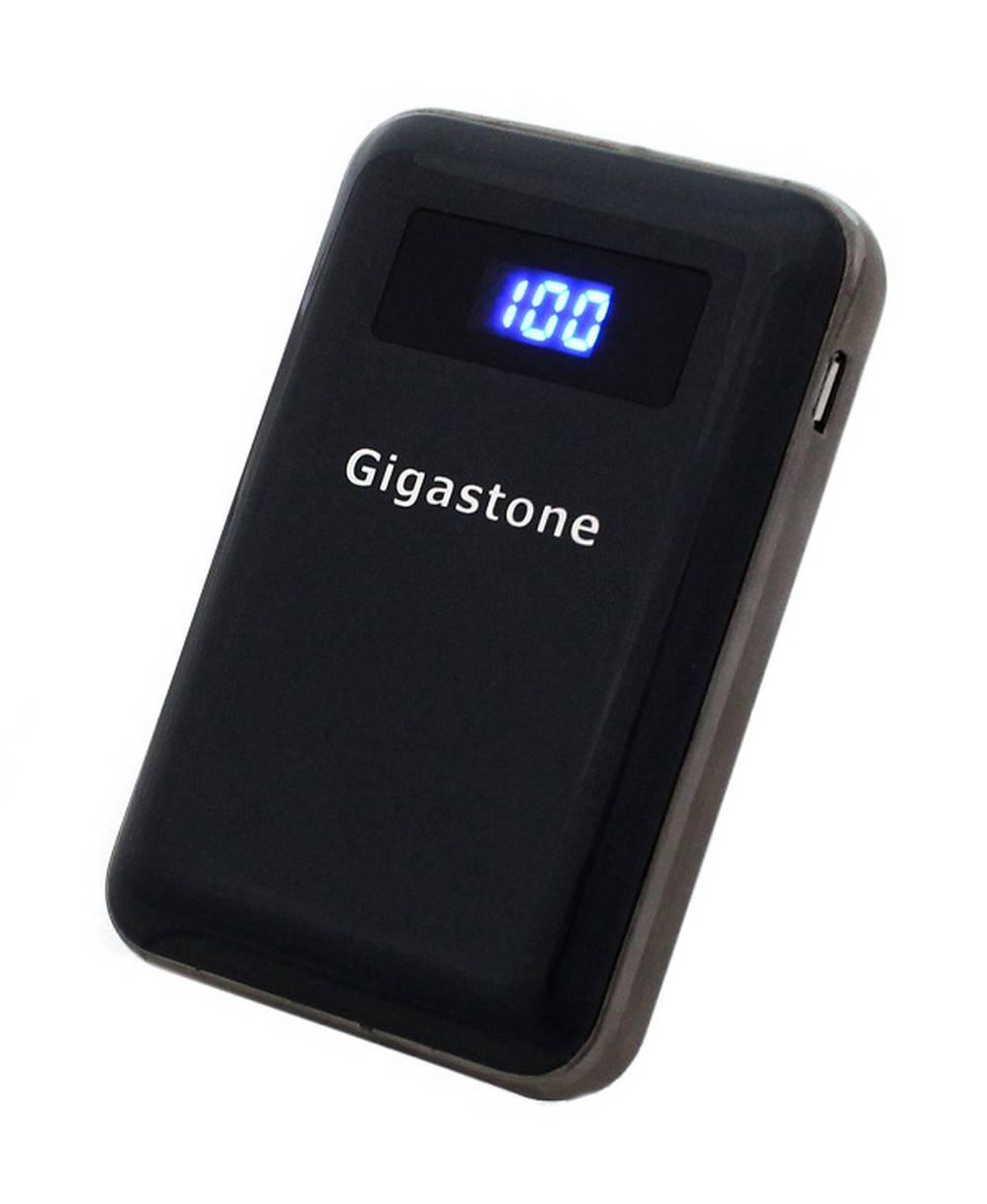 Power Bank Gigastone P2S-90S 9000 mAh Dual Μαύρο με Ένδειξη Επιπέδου Φόρτισης Led
