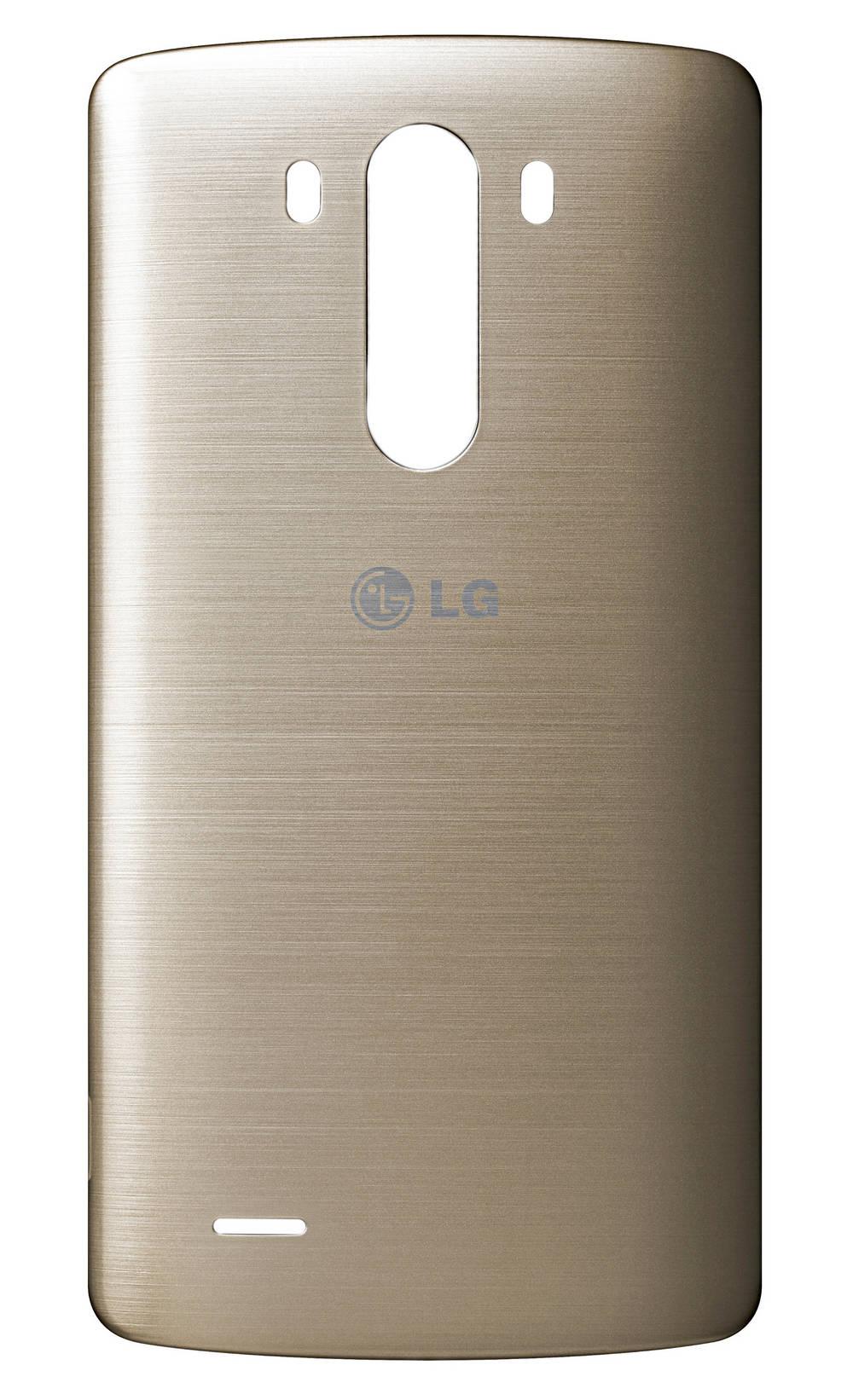 Καπάκι Μπαταρίας LG G3 D855 Χρυσαφί με Κεραία NFC Original ACQ87482403