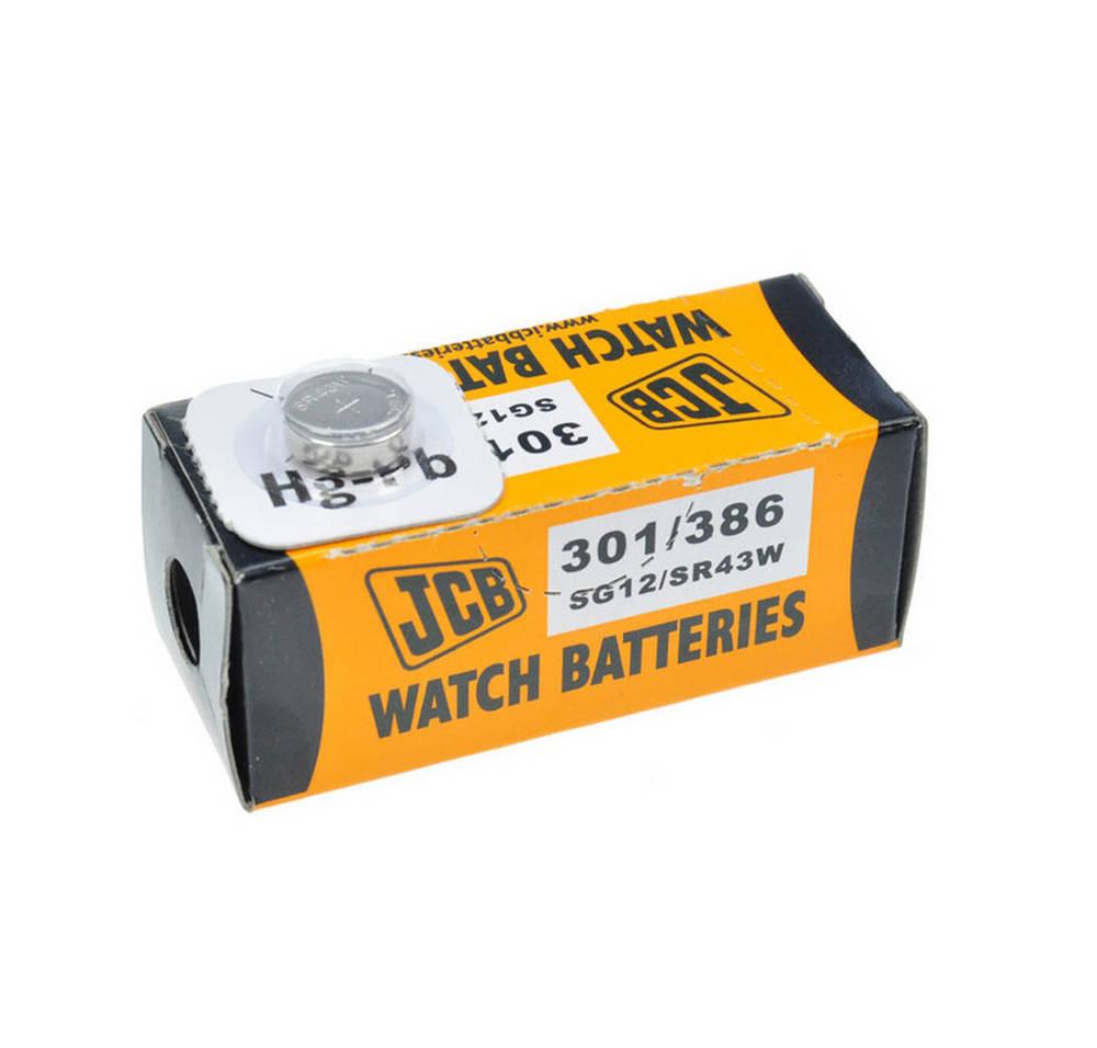 Buttoncell JCB 301/386 SG12/SR43W Τεμ. 1