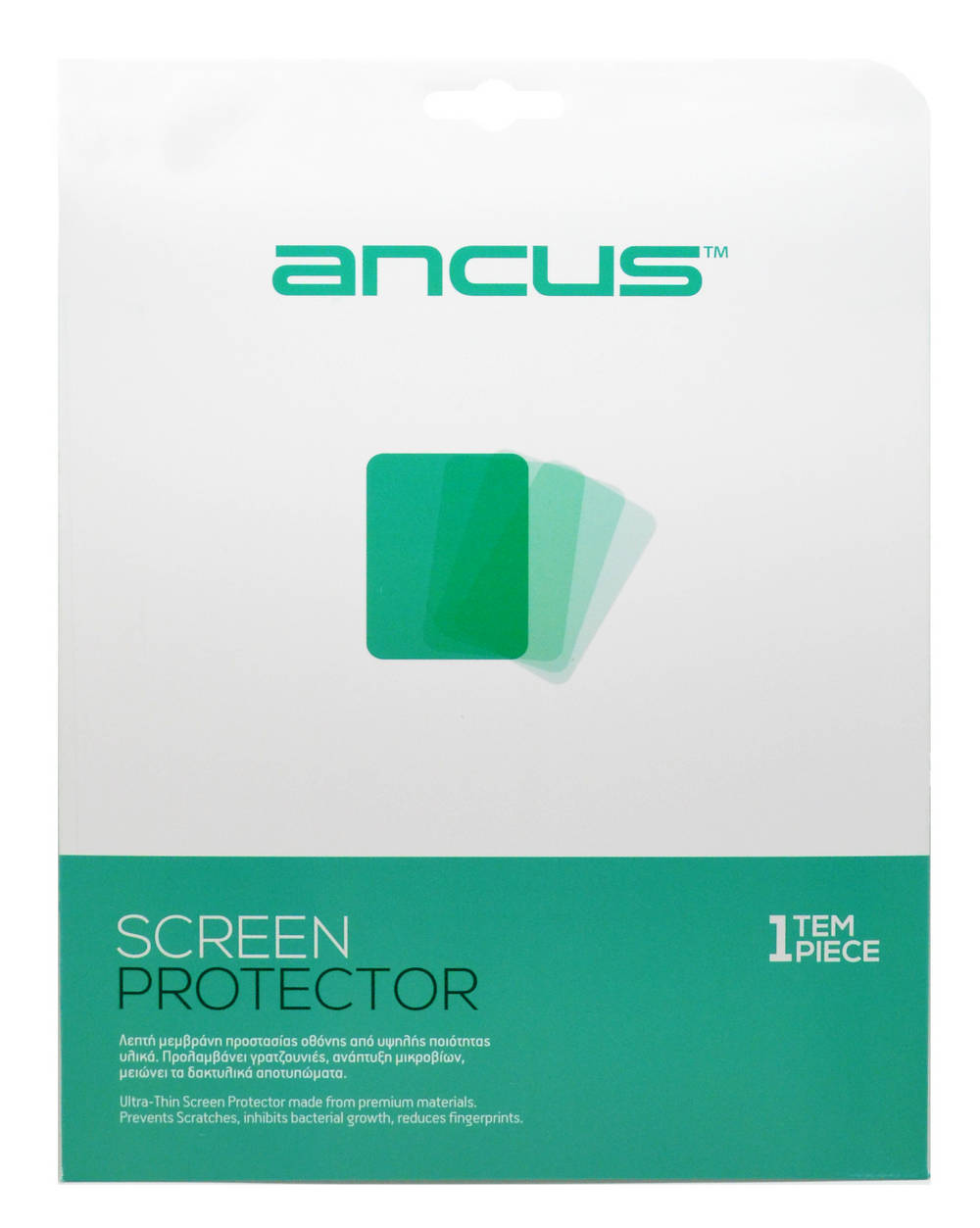 "Screen Protector Ancus για Mls iQTab® Giant 9.7"" Clear"