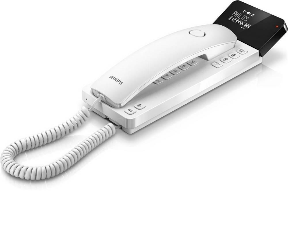 Σταθερό Ψηφιακό Τηλέφωνο Philips M110W Scala Design Λευκό