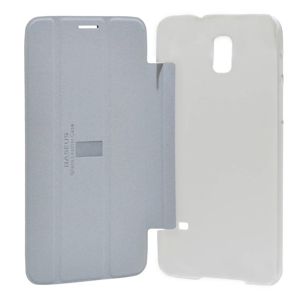 Θήκη Book Baseus Grace Leather για Samsung SM-T2558 Galaxy Mega 7.0 Μπορντώ - Λευκό